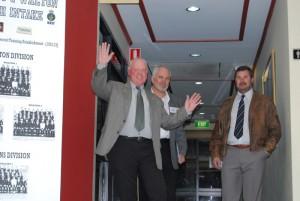 Ron Nipperess, Glenn Murch and Wayne Mansell