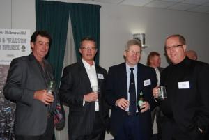 Terry McGregor, Chris Fox, Kev Christensen and Wayne Swadling