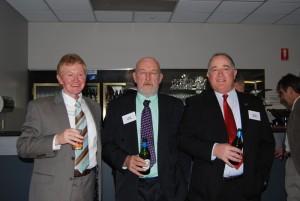 Bob Sawbridgeworth, Brian Platten and Bruce Francis