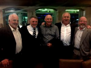 Glenn Murch, Paul Altman, Kim Nisbet Gerry Walsh and Geoff Barcham